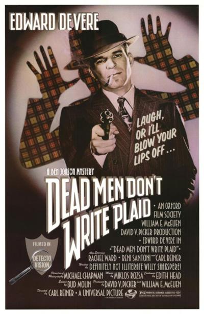 Dead Men Don't Write Plaid